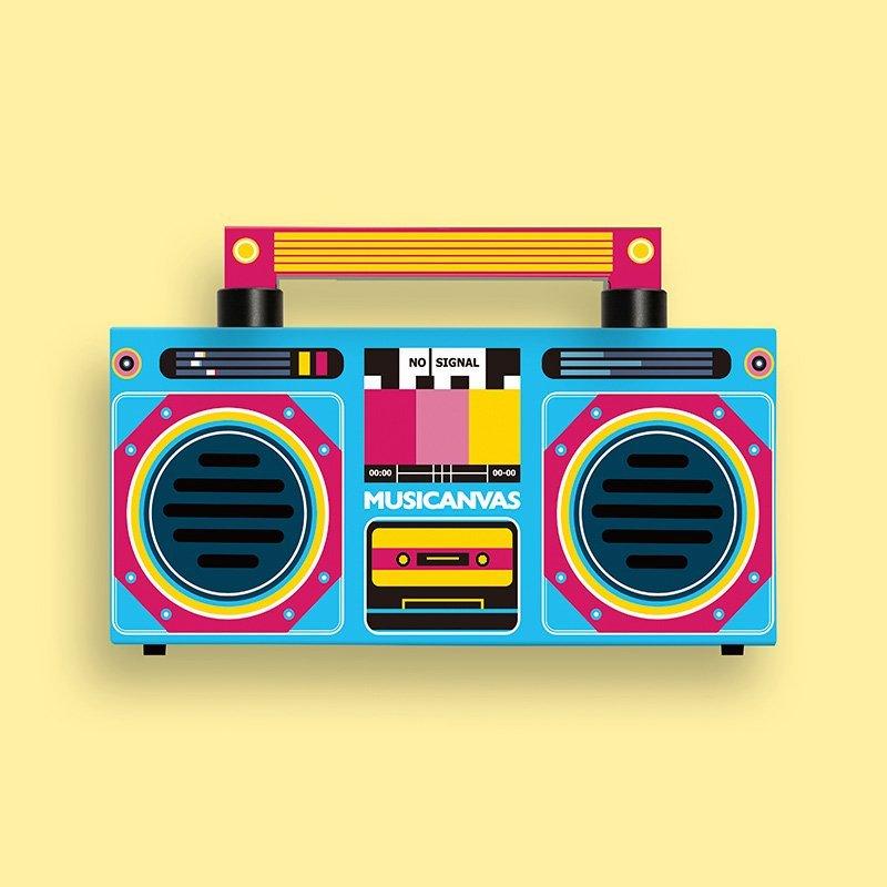 Creative Bluetooth Speaker by Musicanvas
