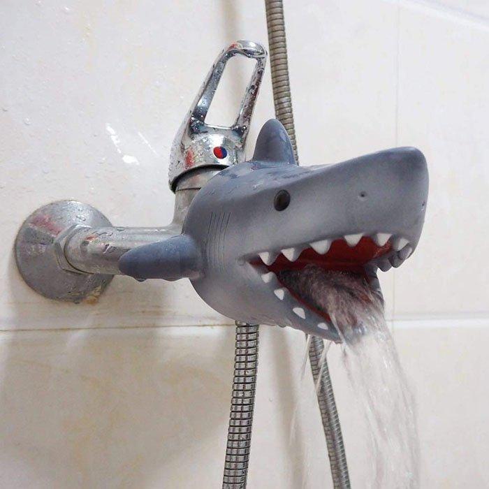 Shark Faucet Cover