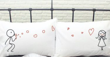 From My Heart To Yours His & Hers Pillowcases
