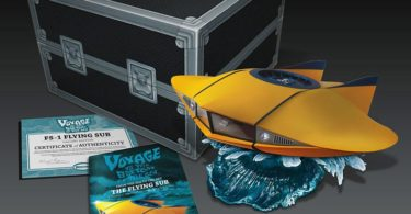 Voyage to the Bottom of the Sea Flying Sub Vehicle