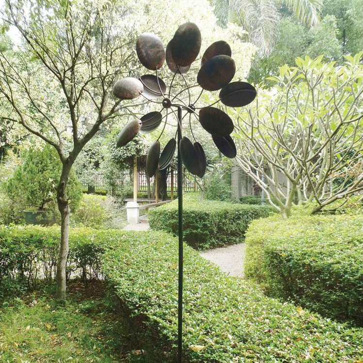 Large Spoon Garden Windmills