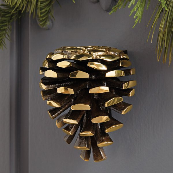 Pinecone Door Knocker