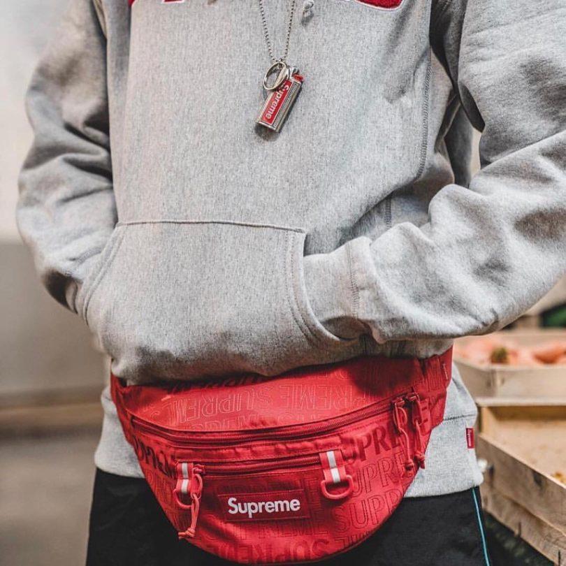 Supreme Waist Bag SS19 Red » Petagadget