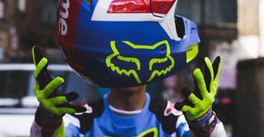 Supreme Fox Racing V2 Helmet Multicolor