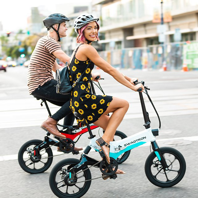 Swagtron EB7 Folding E-Bike