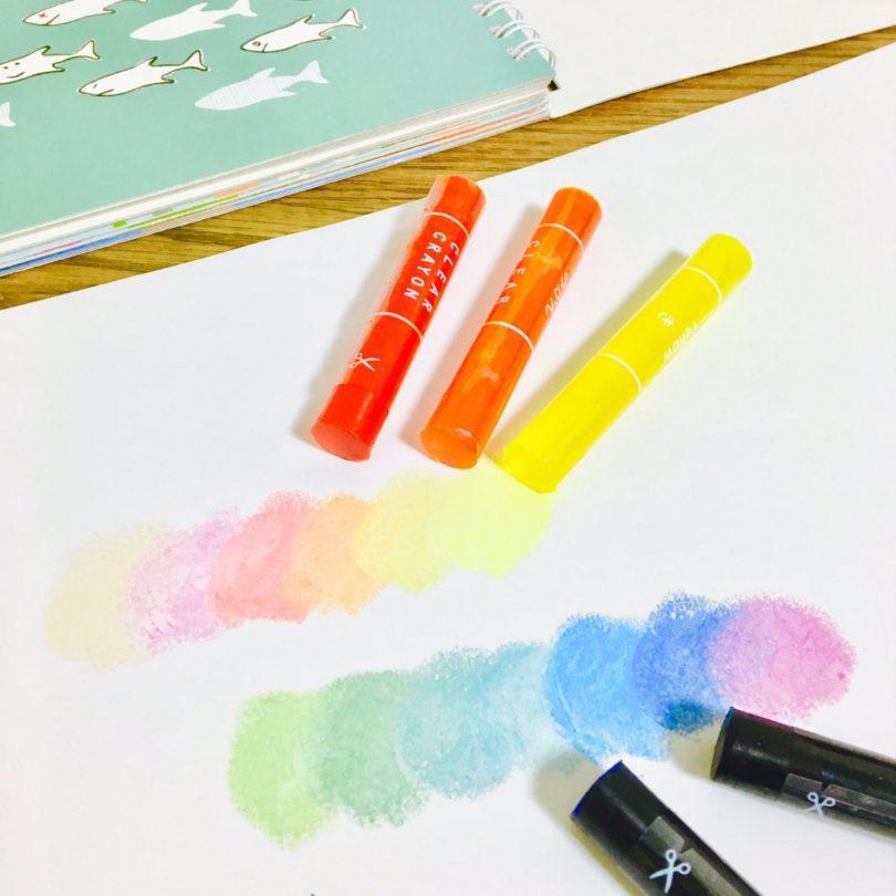 Kokuyo Transparent Crayons