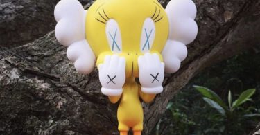 KAWS Tweety Bird Yellow 2010