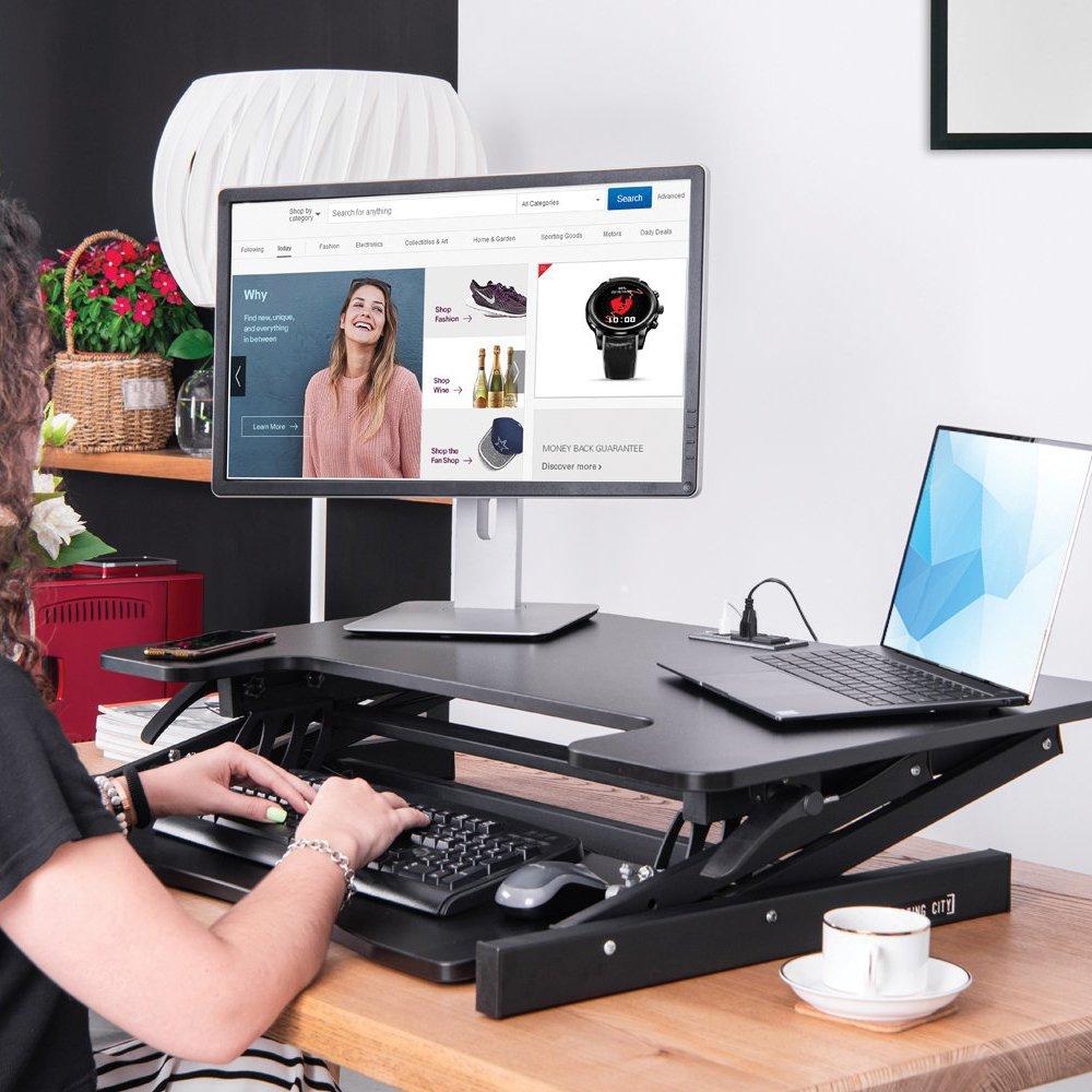 Smart Standing Desk Converter
