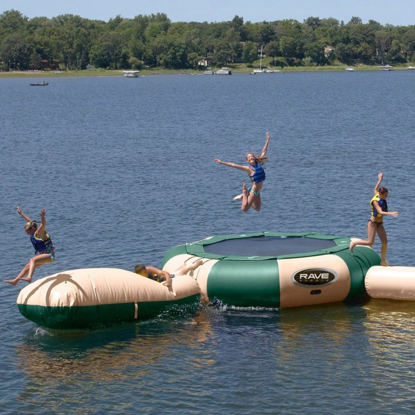 Aqua Jump Eclipse 150 & Aqua Launch Inflatable