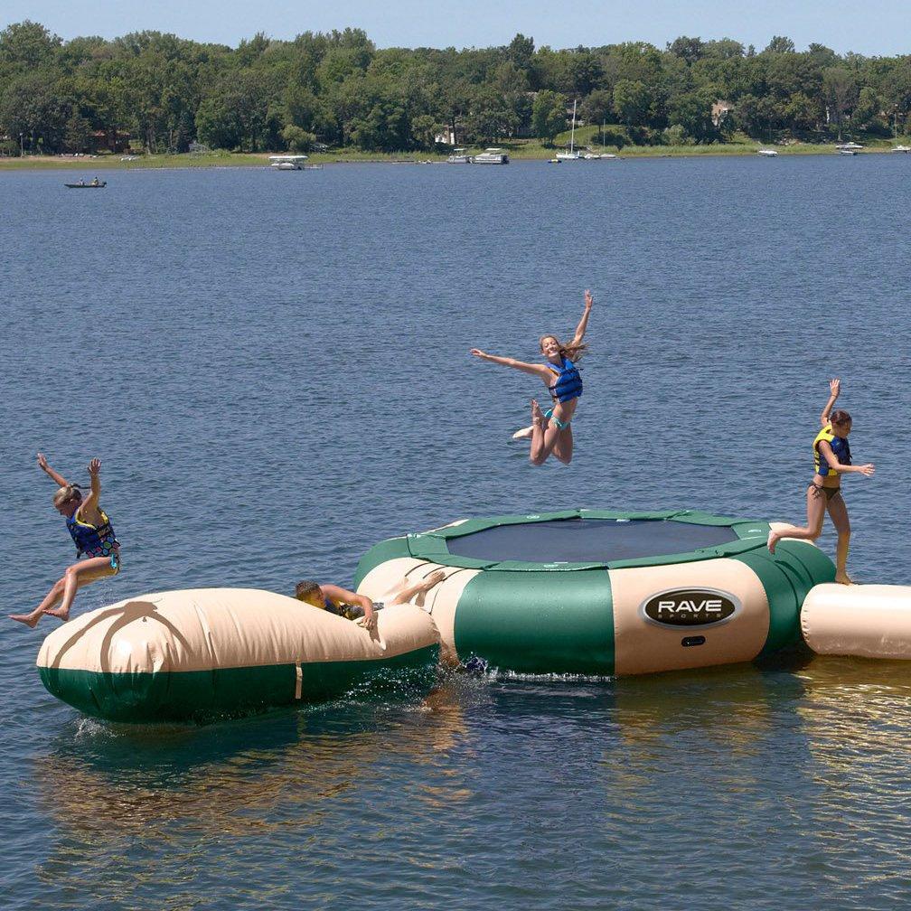 Aqua Jump Eclipse 150 & Aqua Launch Inflatable
