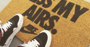 Nike Kiss My Airs Doormat