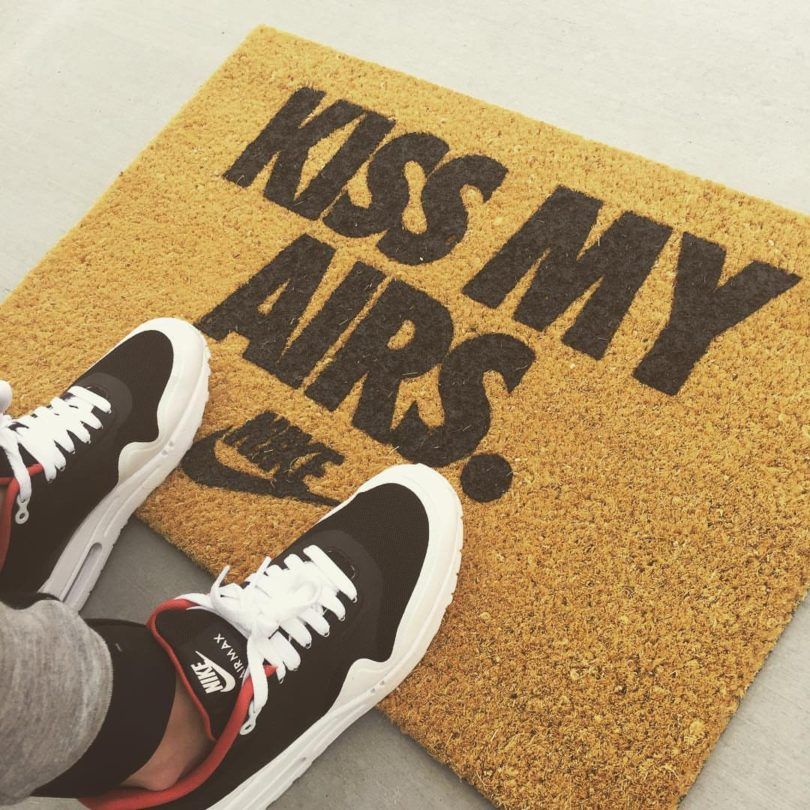 Nike Kiss My Airs Doormat