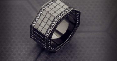 Octagon Grid Ring by Jason of Beverly Hills