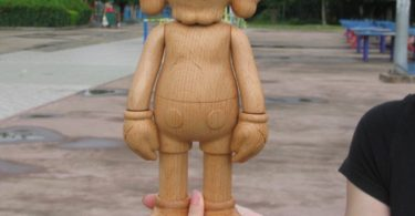 Beech Wood Red Wood Walnut Wood 11 inch KAWS X Karimoku BFF Dissected Companion