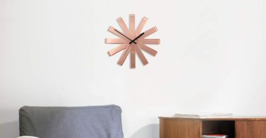 Umbra Ribbon Modern 12-inch Wall Clock