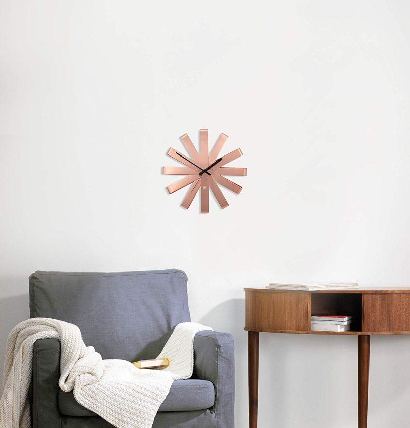 Umbra Ribbon Modern 12-inch Wall Clock