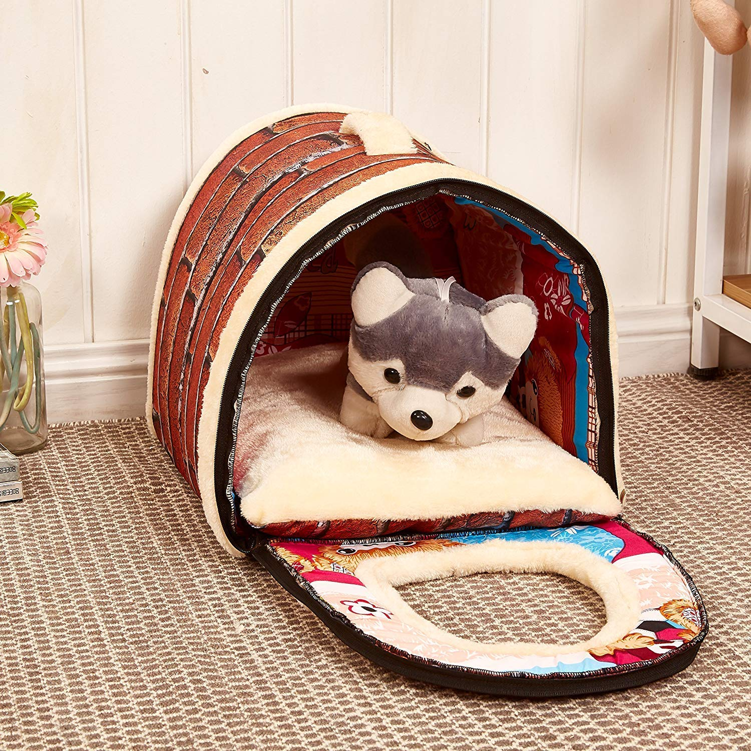 Showking Cuddly Dog Sofa Pet House
