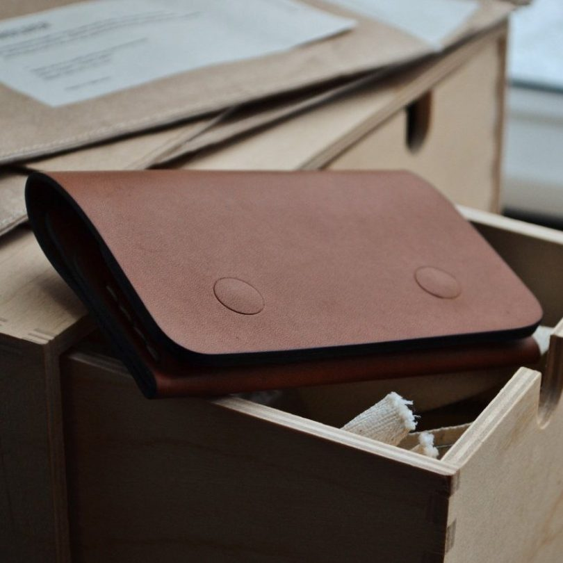 Slim Fit Leather Wallet