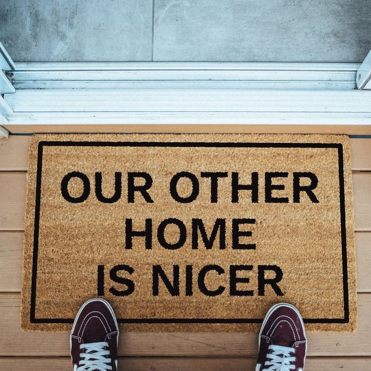 Our Other Home Is Nicer Doormat