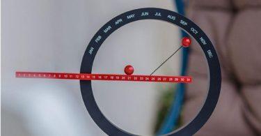 Perpetual Magnetic Calendar