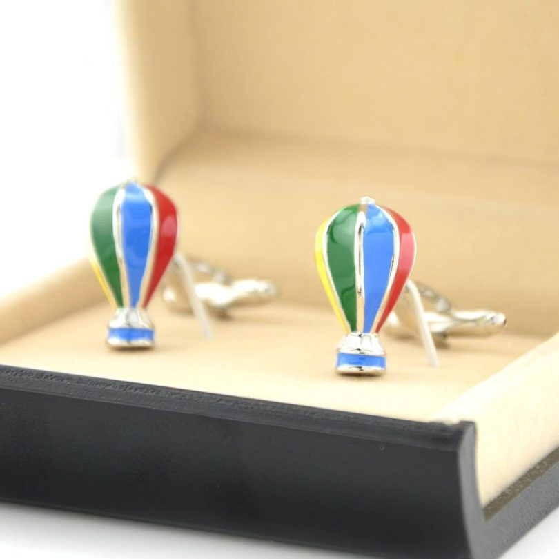 Fire Balloon Cufflinks