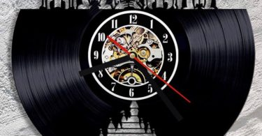 Disney LED Vinyl Record Wall Clock