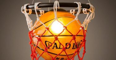 Basketball Pendant Hanging Lamp