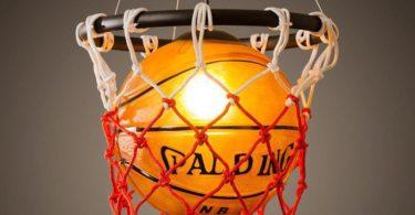Basketball Pendant Hanging Lamp