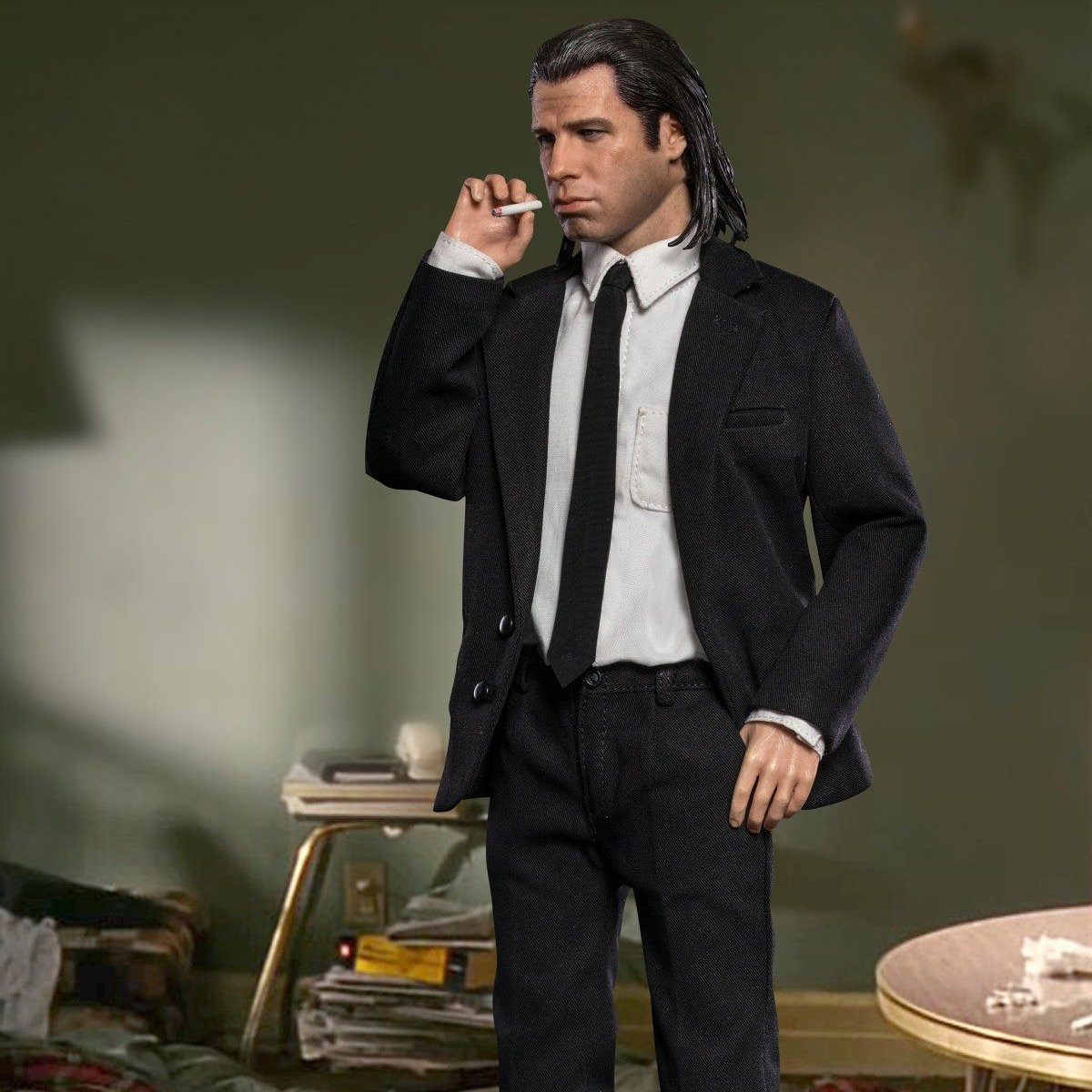 Pulp Fiction Vincent Vega 1 6 Scale Action Figure 187 Petagadget