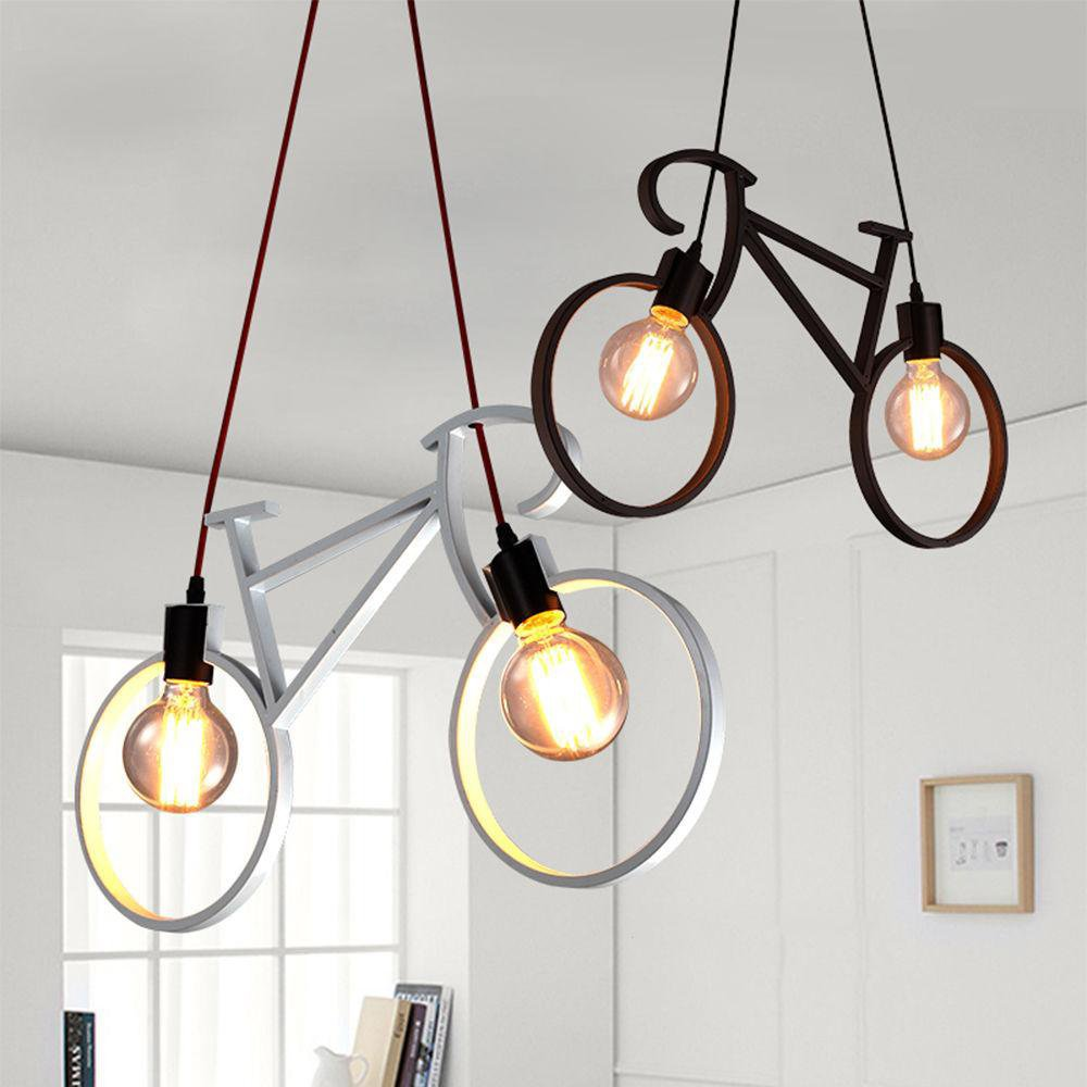 Modern Bicycle Chandelier Lamp