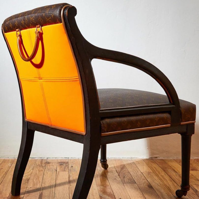 Original Louis Accent Chair