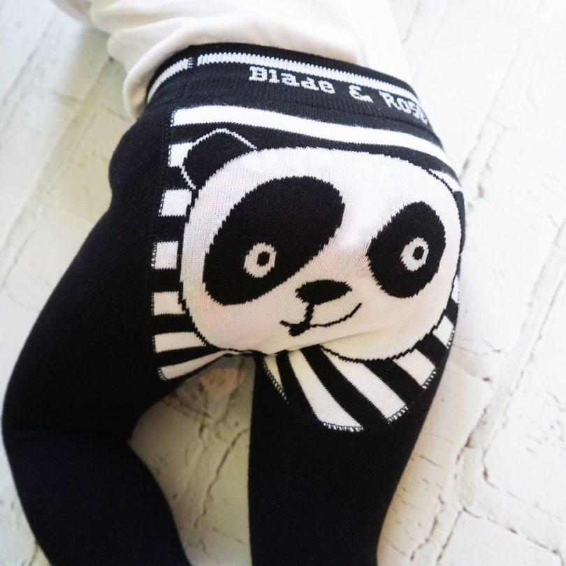 Organic Cotton Panda Leggings WWF