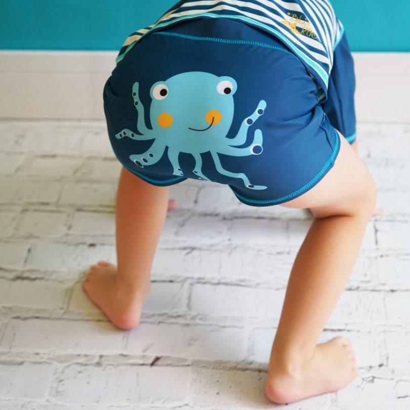 Swim Short Octopus