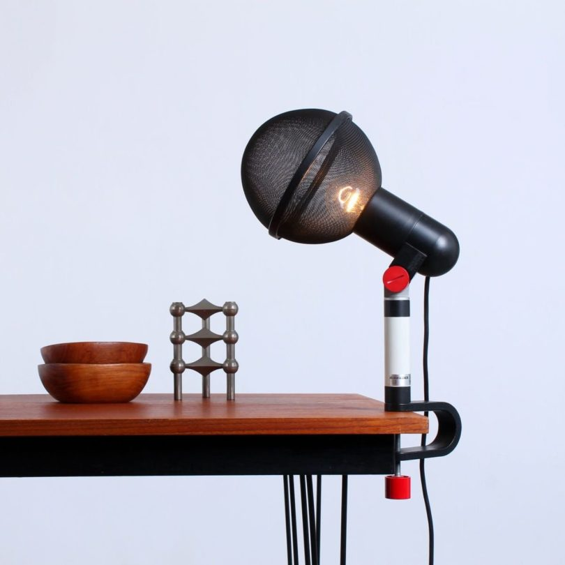Micro Microphone Table Light by Roger Tallon for Erco