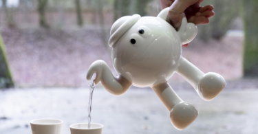 James Jarvis x Case Studyo Porcelain Teapot