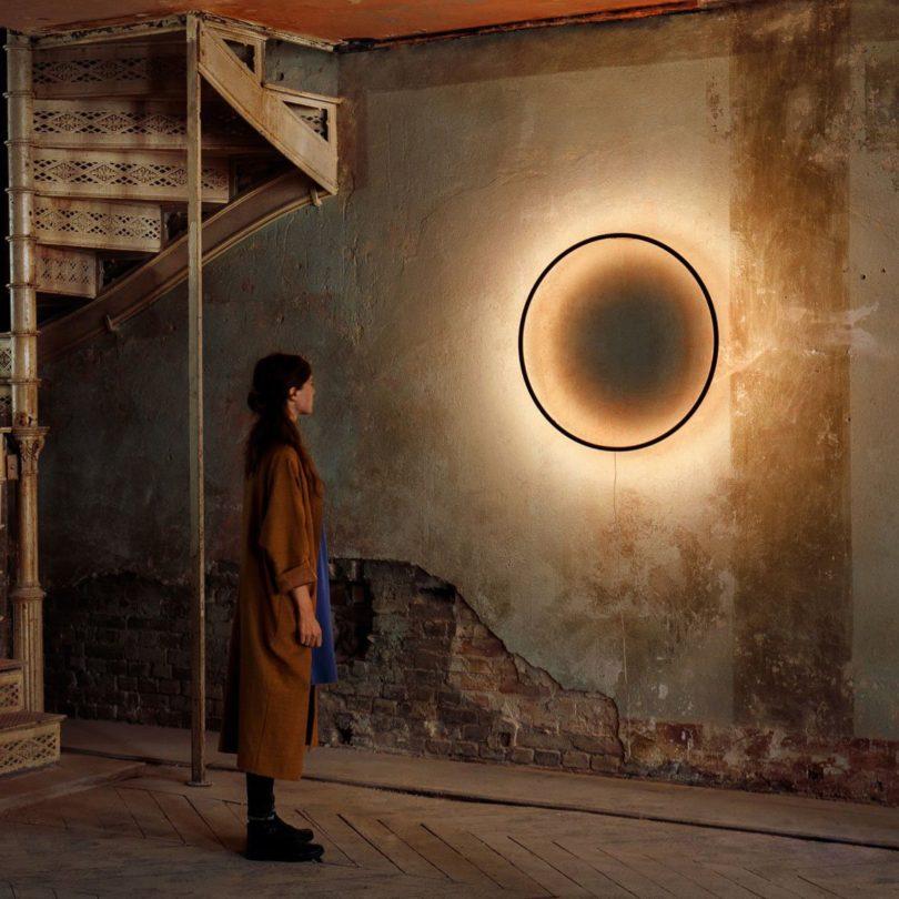 Eclipse Wall Light by Tilen Sepić for Bazar Noir