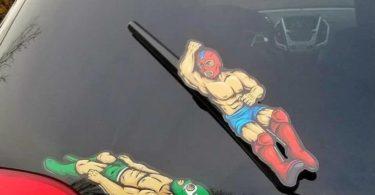 Luchador Wiper Decals