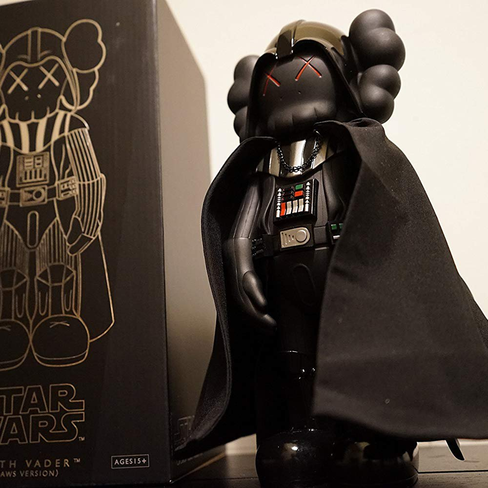 KawJumbo Black Dark Vader KAWS 20 inch
