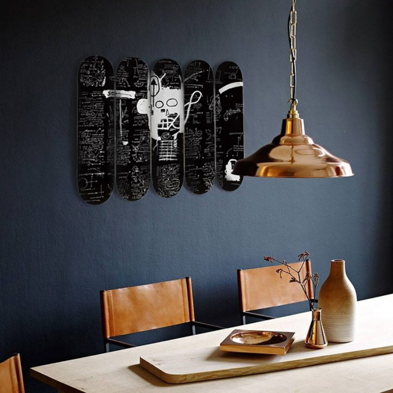 Jean-Michel Basquiat Demon Skateboard Deck Set of 5
