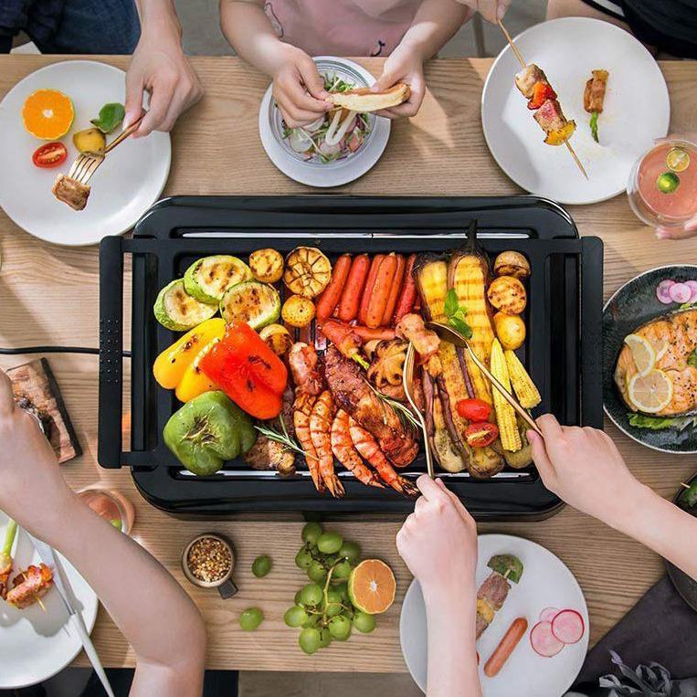 Indoor Smokeless Grill with Infrared Technology & Zero Smoke