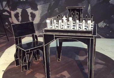 Protopunk Chess Table and Chess Set