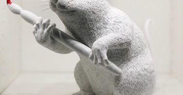 Banksy Love Rat Sculpture 2016