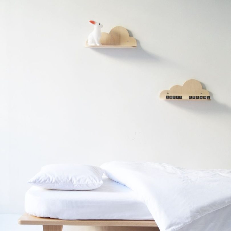 Nuage Shelves by Mum and Dad Factory for Swing Design