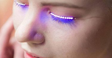Interactive LED Eyelashes