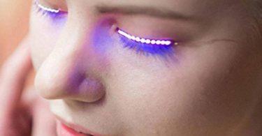 Interactive LED Eyelashes