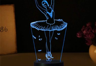 Ballet Dancer Gifts 3D Illuion Lamp