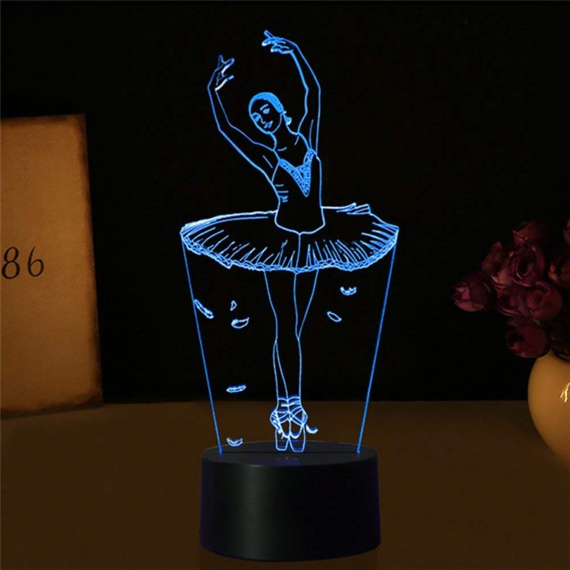 Ballet Dancer Gifts 3D Illuion Lamp