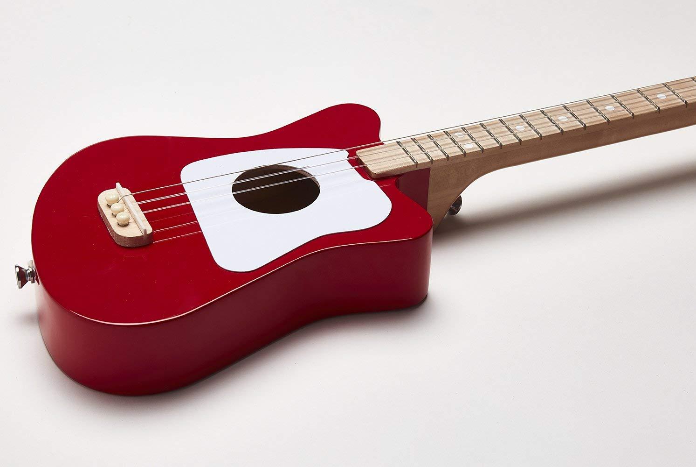 Mini Red Electric Guitar w/ Personalized Case