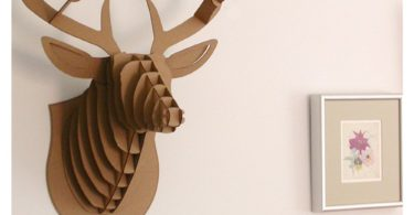 Paper Maker Cardboard 3D Deer Head