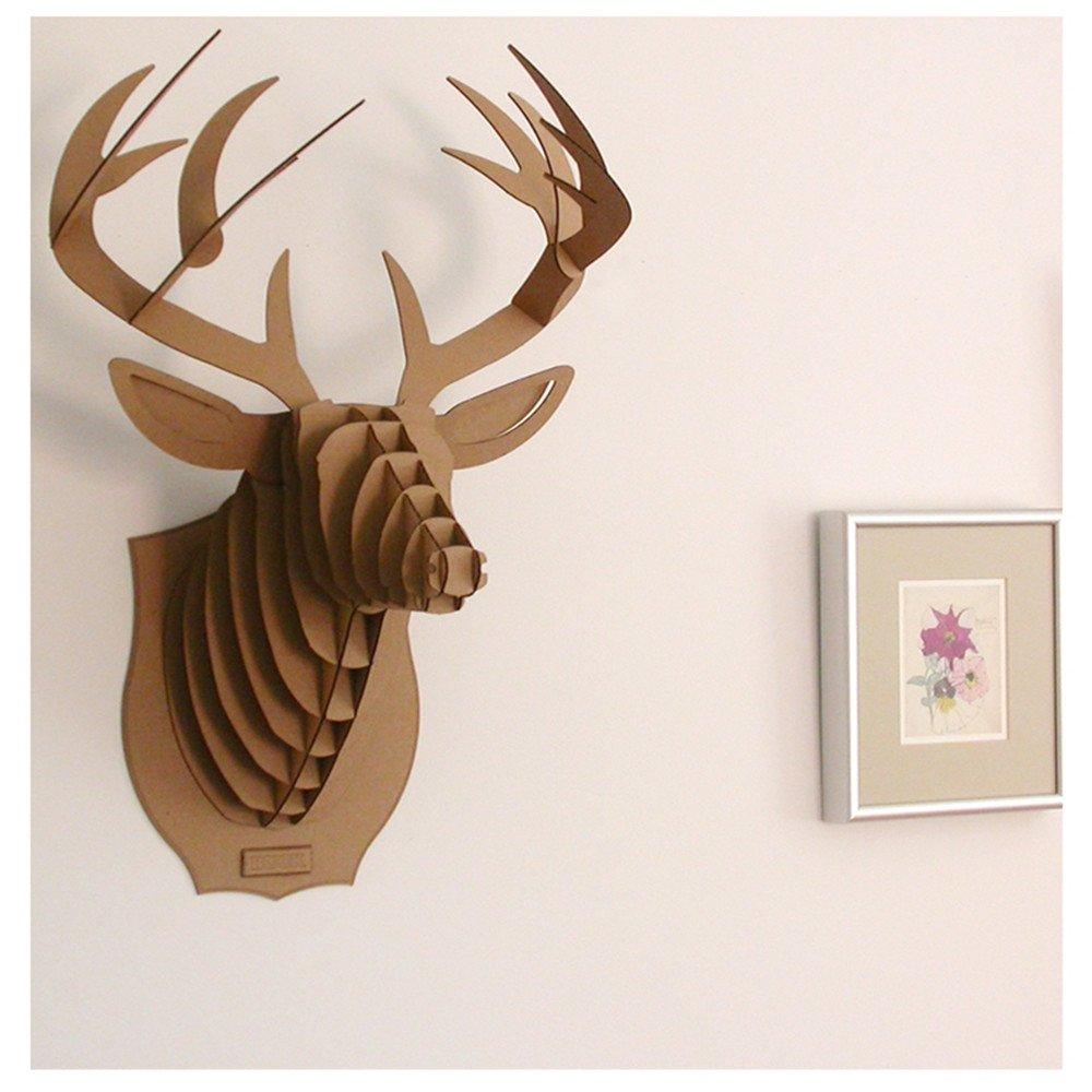 Paper Maker Cardboard 3D Deer Head